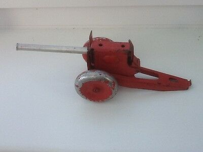 Vintage Tin Plate Canon in Working Order