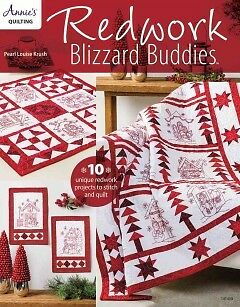 Redwork Blizzard Buddies - NEW - 9781590126615 by Krush, Pearl Louis