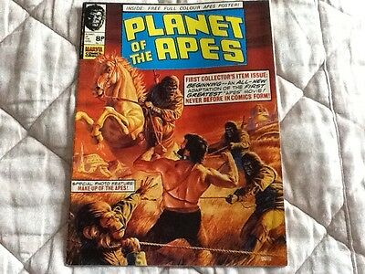 planet of the apes no,s 1 and 2