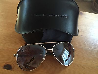 French Connection Ladies Aviator Sunglasses