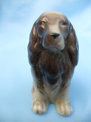 Collectable 3 inch High Ceramic Spaniel Dog Ornament