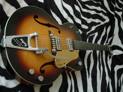 1958 Vintage Gretsch `Double Anniversary` Guitar. Sunburst, + original Case +...