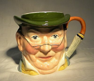 Sylvac Character Jug Mr Pickwick