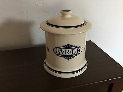 The Victorian Pottery 1869 Garlic storage jar