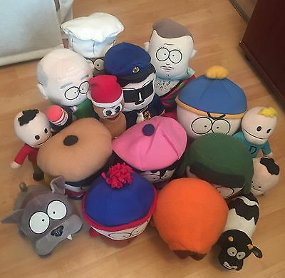 South Park Rare And Limited Edition Plush Characters And Toys