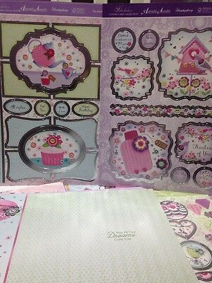 Hunkydory Faberdashery Collection, Part Used.