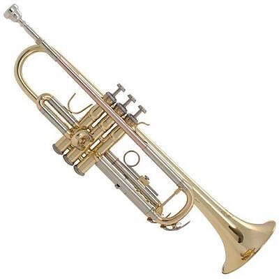 Bach TR711 Prelude Bb Student Trumpet (Gold Lacq) Used, 1 year warranty
