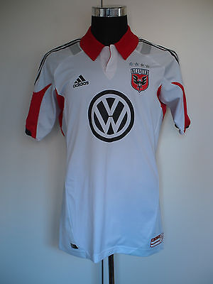 Rare DC United Player Issue MLS Techfit Jersey 2012 Size 10