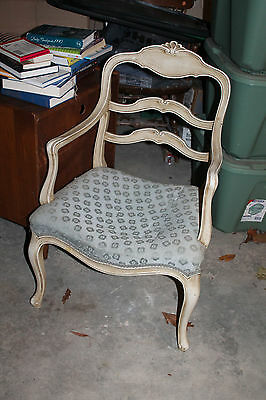 Michigan Chair Company Wooden Chair Upholstered Seat Antique Furniture