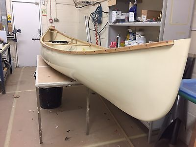 15 Ft 10 Inches GRP Canadian canoe