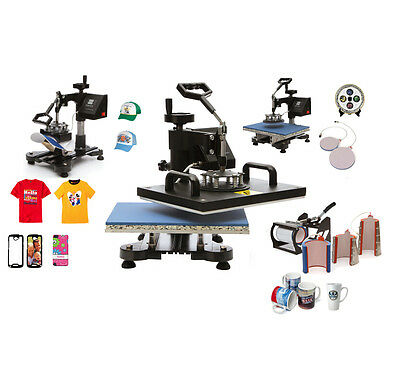 Worldwide Ship New 8 In 1 Heat Press Machine For Heat Press/Sublimation Tshirt