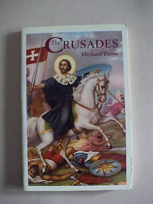 The Crusades by Michael Paine. Paperback historical book. Medieval Age. New
