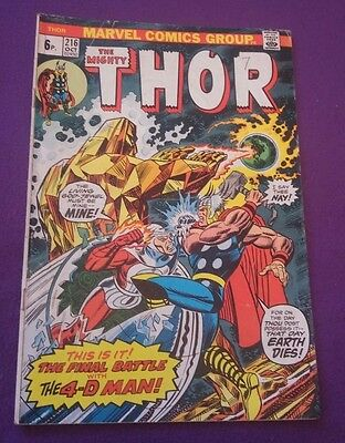 Marvel Comic - Thor Issue 216