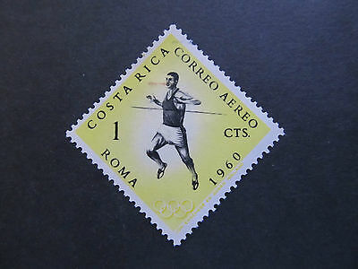 1960 - Costa Rica - Runner - Scott C303 Ap63 1C