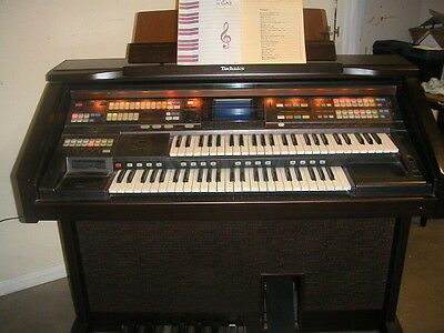 Technics GA3 Organ, a Superb Instrument in Every Way - CAN DELIVER BEFORE XMAS
