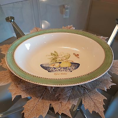 "Sarah's Garden by Wedgwood 11"" Oval Vegetable Bowl"