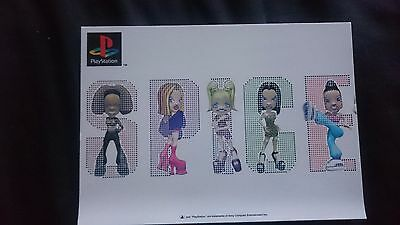 Official Spice Girls Postcards for Playstation game