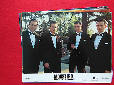 RARE 10x8 UK FOH LOBBY CARD STILL SET(x8) - MOBSTERS