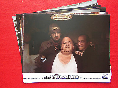 RARE VINTAGE 10x8 UK FOH LOBBY CARD STILL SET(x8) - JUST ASK FOR DIAMOND