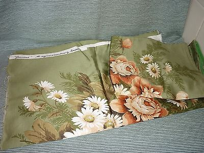 Vintage Remnant of Sanderson 'Grosvenor' Fabric 127cm Wide x 51cm Long + Extra