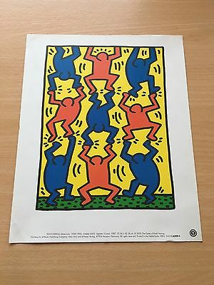 Keith Haring Print - Untitled (AIDS Update Cover) 1987