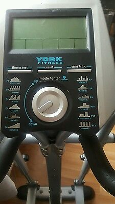 York Fitness X201 Elliptical Cross Trainer In Mint Condition