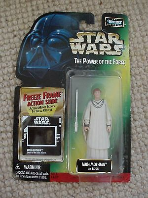 Kenner Star Wars Mon Mothma with Baton and Freeze Frame New