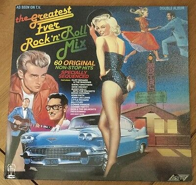 The Greatest Ever Rock N Roll Mix - Various Artists - Double Vinyl LP