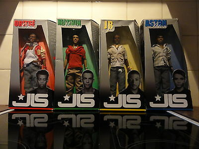 JLS Action Dolls in Box X Factor Top of the Pops MTV