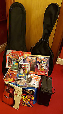 Acoustic & Electric Guitar with Accessories