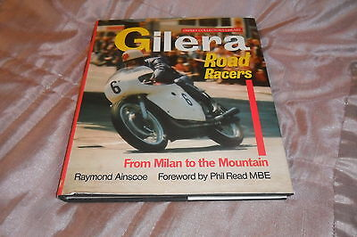 """RARE-""""Gilera Road Racers"""" by Raymond Ainscow-First Edition Osprey 1987"""