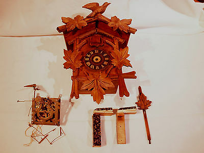 Antique cuckoo clock For restoration