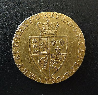 1790 George III Solid Gold Full Guinea - Nice Condition