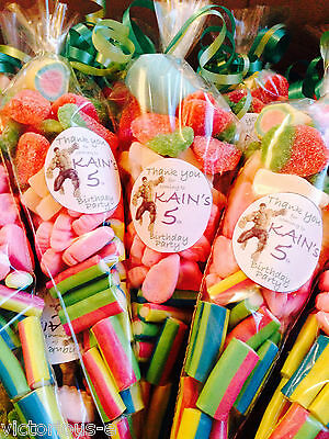 """LARGE 12"""" pre-filled Sweet Cones Birthday Party Bag Wedding Baby Shower Favours"""