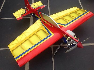 Large PROFILE RC plane with Saito 72 4 stroke engine