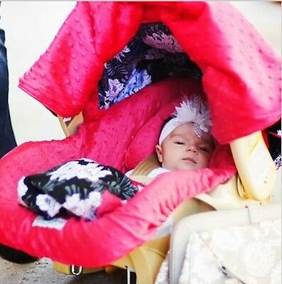 Carseat Canopy Caboodle Infant Car Seat Canopy Cover 5 piece Set Covers Lovely