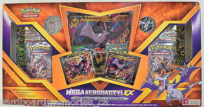 Pokemon Mega Aerodactyl EX Factory Sealed Premium Collection Box
