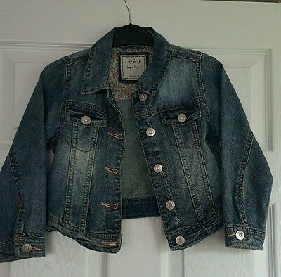 Girls Next Jean/Denim Jacket - Size 4-5