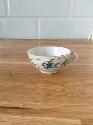 Childs Antique Nursery Rhyme China Cup Hey Diddle Diddle