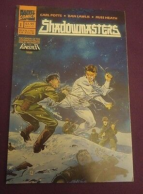 Marvel Comics - Shadowmasters Graphic Novel - from the pages of The Punisher