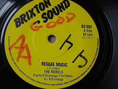 Rare Roots Reggae Uk Monster   Ex Condition See Pictures