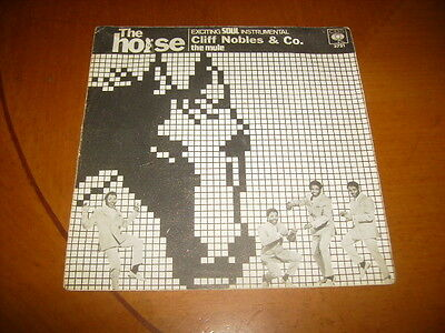 7'' : Cliff Nobles : The Horse 1968 Vg ++ Spain Press