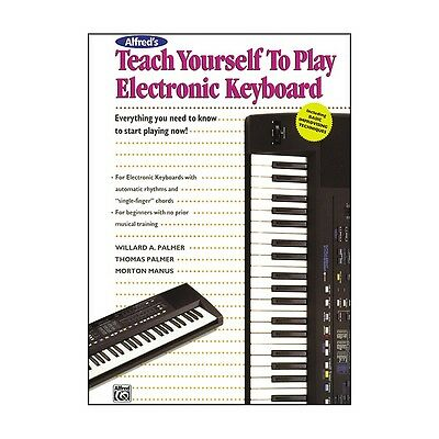 Alfred Alfred's Teach Yourself Play Electronic Keyboard