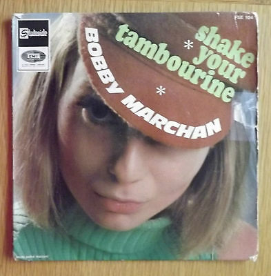 Bobby Marchan-Shake your tambourine French pressing EP 1966