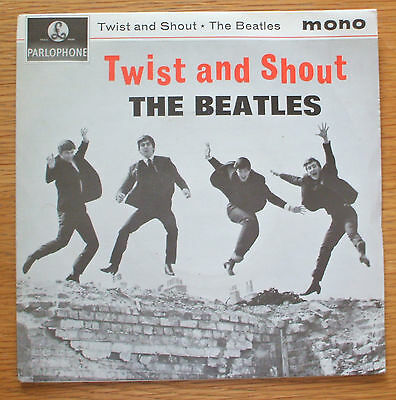 The Beatles-Twist and shout EP 1963