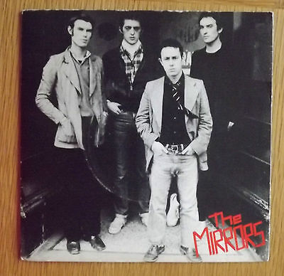 """The Mirrors-Cure for cancer 7"""" Single picture sleeve 1977"""