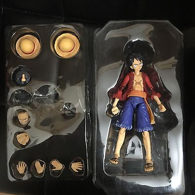 Monkey Luffy D One Piece Anime Action Figure Toy Poseable Model Variable VAH