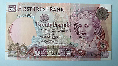 First Trust Bank 20 Pounds 2009 UNC