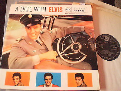 Elvis Presley - A Date With Elvis - Ex Rca Lp