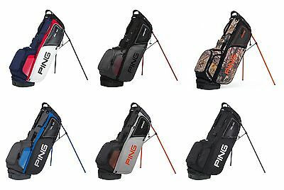 Ping Hoofer Stand Golf Bag Mens - New 2017 - 5 Way Top W/ 12 Pockets